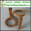 Bamboo cup handle