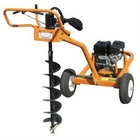 Trailerable One Man Earth Auger with 9 HP