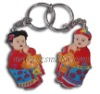Promotional Silicone Key chain