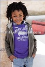 2011 boys blank100% cotton single jersey embroidery T-shirt