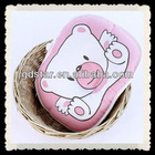 100% cotton lovely cartoon bear memory baby pillow