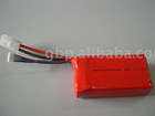 RC polymer battery pack