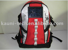 High quality solar energy backpack with 1Watt solar panel