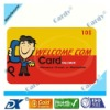 Customized Scratch phone card