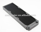 360mm dual-fins copper Radiator,34MM thickness