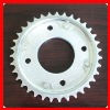 Motorcycle sprocket chain wheel