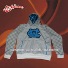 2012 design with100%polyester sublimation hoodies