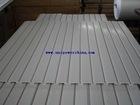 PVC slot board, Pvc Storage Panel, slatwall display, plastic grooved panel, slatwall panel, Pvc Wall Profile