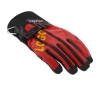 motocycle glove with logo printed