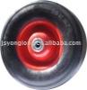 Heavy duty rubber wheel