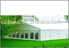 holiday party tent with aluminium profile and PVC polyster textile from 3M to 45M span