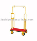 flat-roofed Bellman's baggage trolley