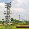110KV transmission line tower