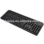 TP-DS211 New Ultra slim wired multimedia keyboard
