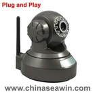 P2P(plug and play) network IP camera,IR cut/ 32 GB TF card/ OEM\ODM preferable,night vision & motion detection,IPhone view