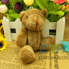 Wholesale Super Cheap 5 Color Teddy Bear Key Pendant Cute Teddy Bear Plush toys 1 Lot 5 set