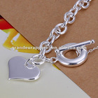 Hot selling Heart TO 925 sterling silver Bracelets fashion jewelry