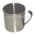 Full Polished Stainless Steel Mug Cup