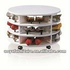 AY-ZR-001 modern style high gloss shoe cabinet