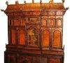 Tibetan shrine hand painted