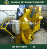 Portable road surface shot blasting machine