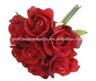 "Wedding Bouquet Wholesale Artificial Flower,10"" Silk Wedding Bouquet Flowers, Artificial Bouquet"