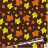 Maple chocolate transfer sheet/transfer paper