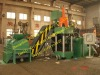 Heavy duty hydraulic metal scrap briquette making machine