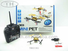 2.4G 4CH MINI RC FLYING INSECT WITH GYRO 4 AXIS