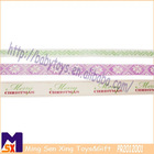 customized colorful printed ribbon for christmas