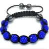 Pure Hand-Weaved Fashion Shamballa Bracelets