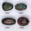 Archaic Paint Spraying Plastic Beads fit bracelet,necklace