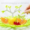 2012 Hot Sale Plastic Tree Root Fruit Plate