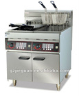 Stainless Steel Electric Deep Fryer with Timer(DF-26-2A)