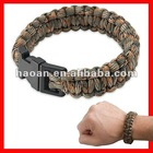 2012 latest 2 color woven paracord bracelet supplies wpb-005