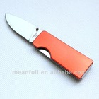Stainless steel folding knife with hook mini pocket knife