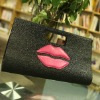 pink green brown cute Zipper PU shoulder Bags For Women