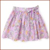 New Design Flora Printed Child 100% Cotton Wrap Skirt