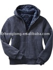 long sleeves winter full zip fashion sweatshirt