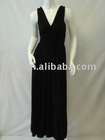 ladies' sexy evening dress, wine party dress