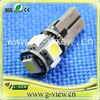 T10/194 hotsale canbus Car led light with canbus error-free
