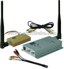 CCTV wireless transmitter and receiver system set Audio Video