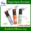 Hot Keychain Designed Pepper Spray 20ml