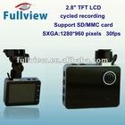 CDVR-W-667----1280*960Pixels in car dvr with 2.8 TFT LCD