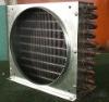 Aluminum finned evapoator