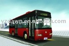 11m inner city greentec hybrid bus with max speed of 70km/h with 336V60Ah lithium ion battery