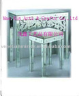 modern bedside coffee table Mirrored furniture Table MXFU250