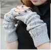 2012 New Fashion Ladies' Knitted Long Mittens