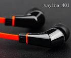 Original new style high quality plastic earphone for iPone, HTC and Samsung