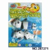 Hot sale plastic wind up toys ,Wind up animal toys 2pcs,play on water